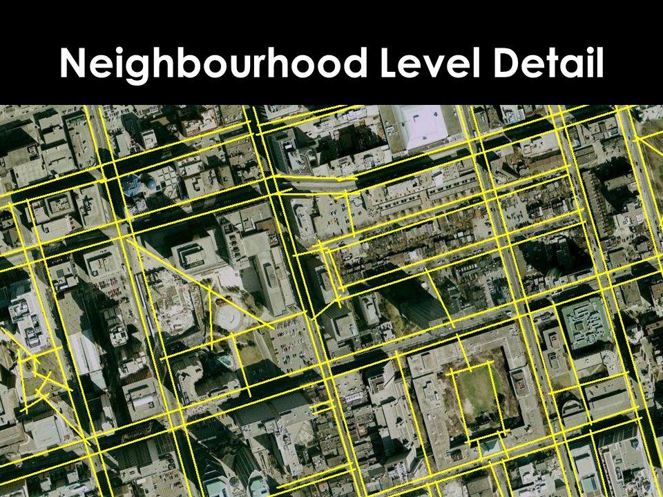 Neighbourhood Level Detail