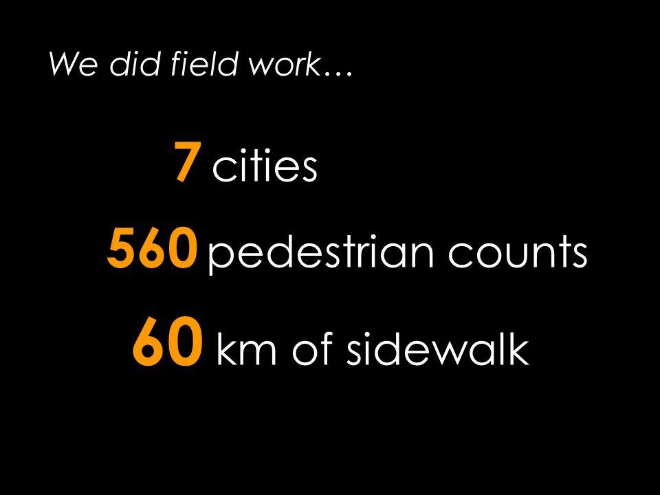 Pedestrian Model Accuracy