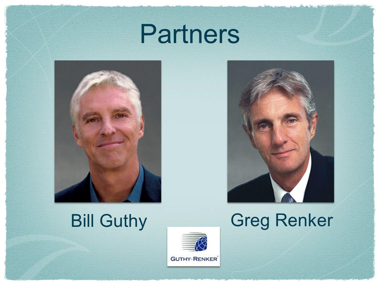 Bill Guthy Greg Renker Partners