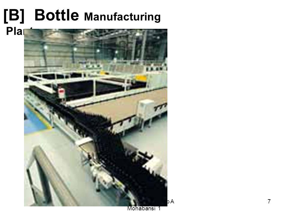 7 [B] Bottle Manufacturing Plant