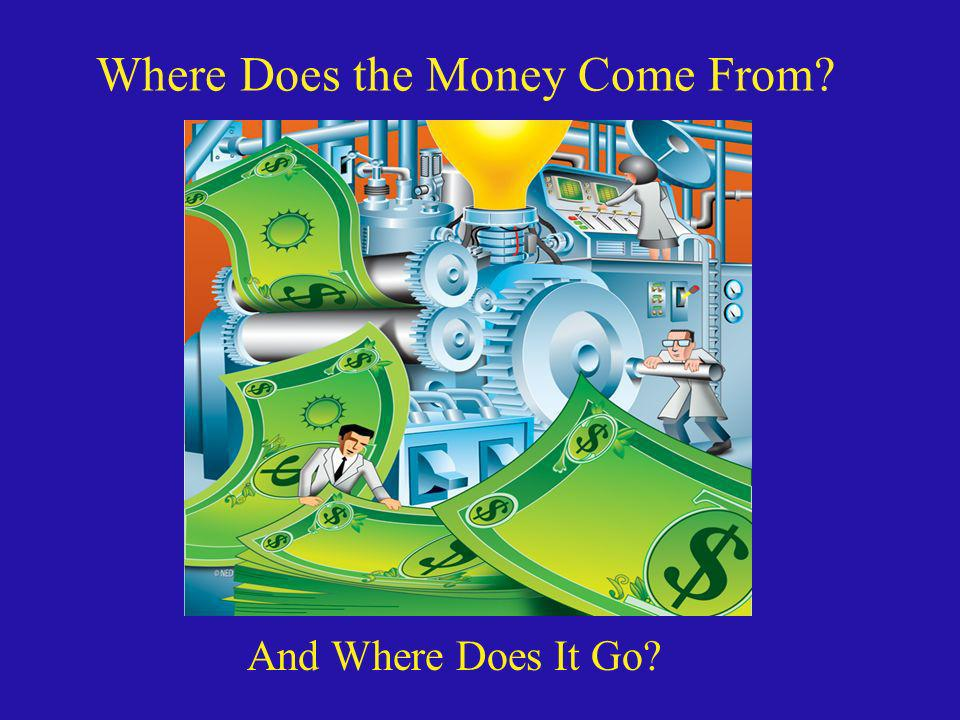 Where Does the Money Come From? And Where Does It Go?