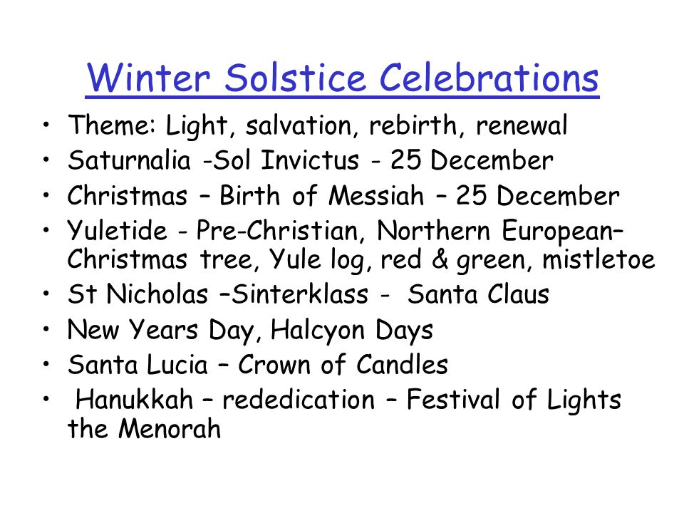Winter Solstice Winter Sun is low 18º max at noon at Latitude 48.5º Summer Sun is high 65º max at noon at Latitude 48.5 Solstice means the sun stops a