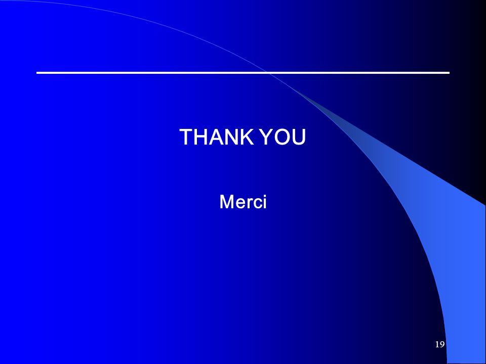 19 THANK YOU Merci