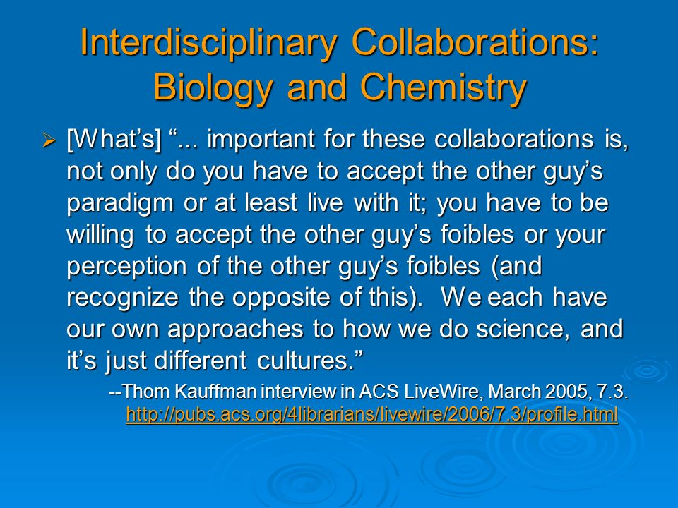 Some Questions from the ACS CINF 2004 Symposium Find all proteins related to protein A (i.e.