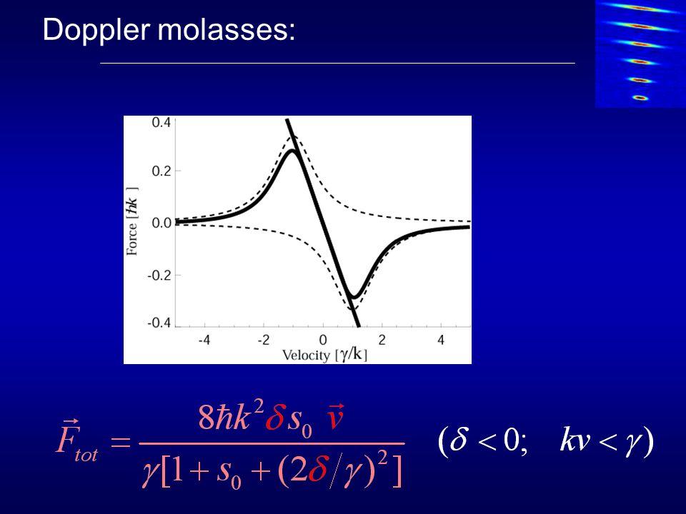 Doppler molasses:
