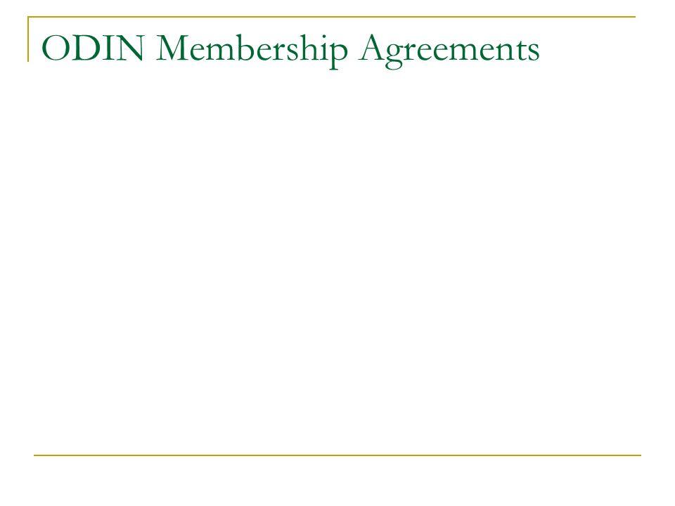 ODIN Membership Agreements