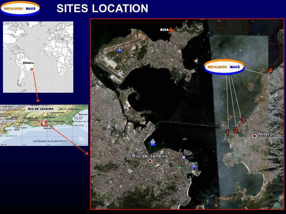 SITES LOCATION OPEN SEAS EISA BRAZIL RIO DE JANEIRO