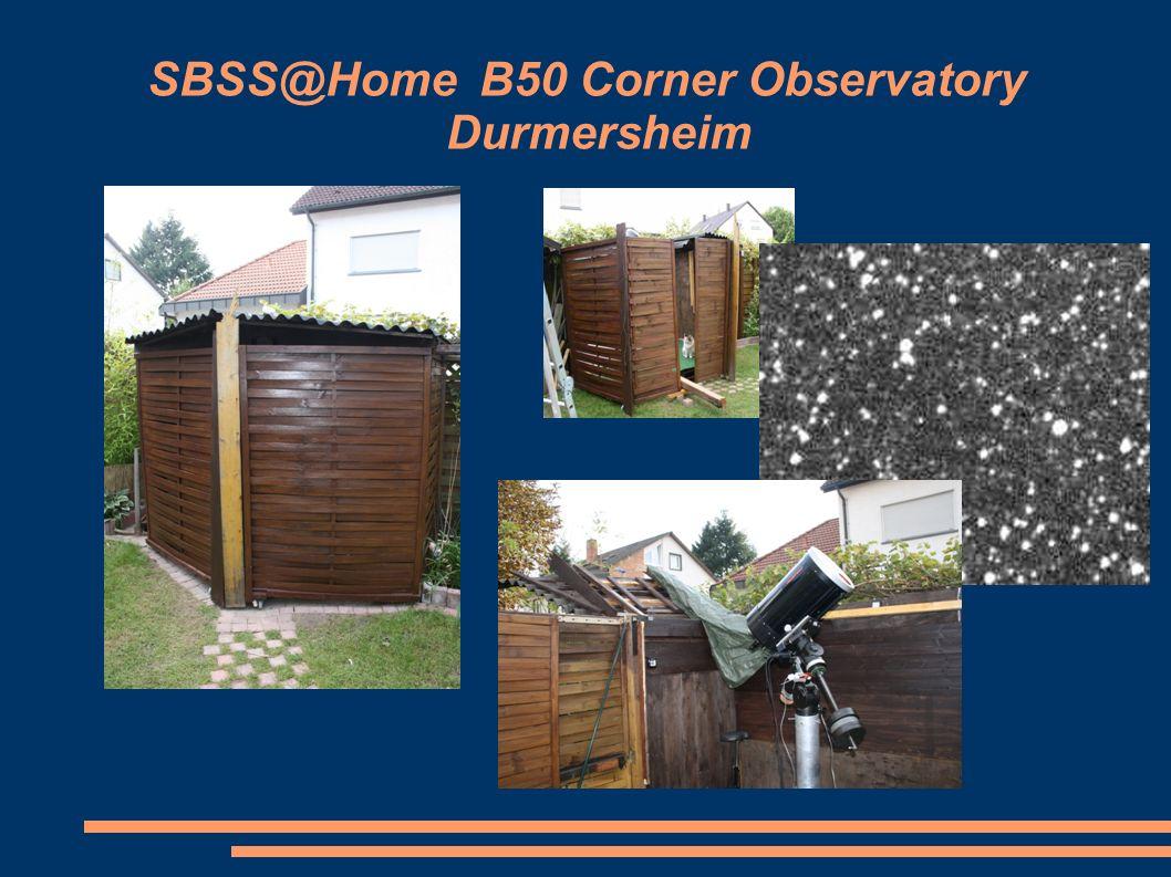 SBSS@Home B50 Corner Observatory Durmersheim