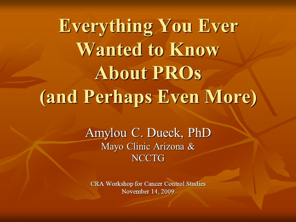 Outline What are PROs.What are PROs. What are the different types of PROs.