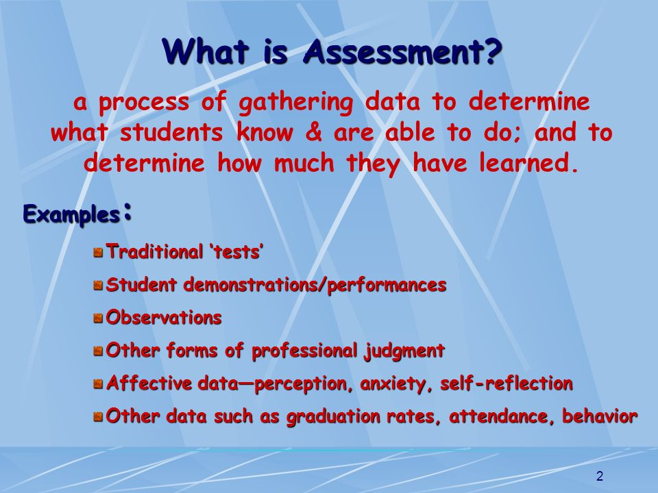 13 Why is Assessment FOR Learning critical in the classroom.