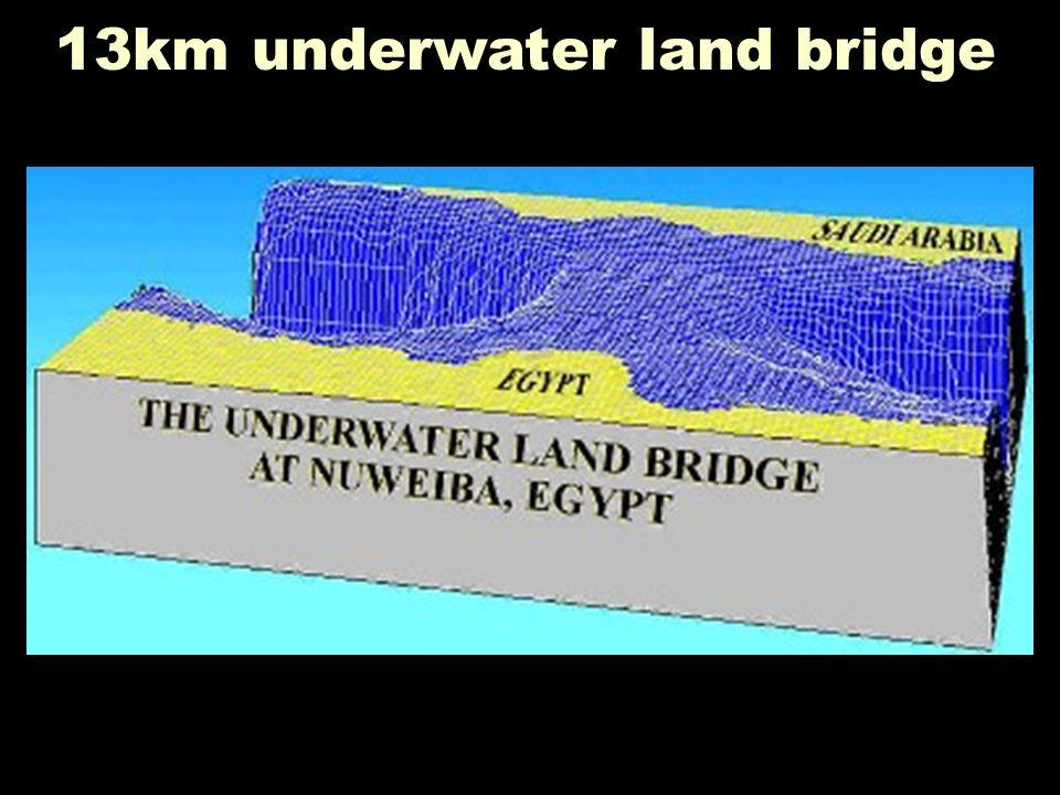 Underwater bridge 2 13km underwater land bridge