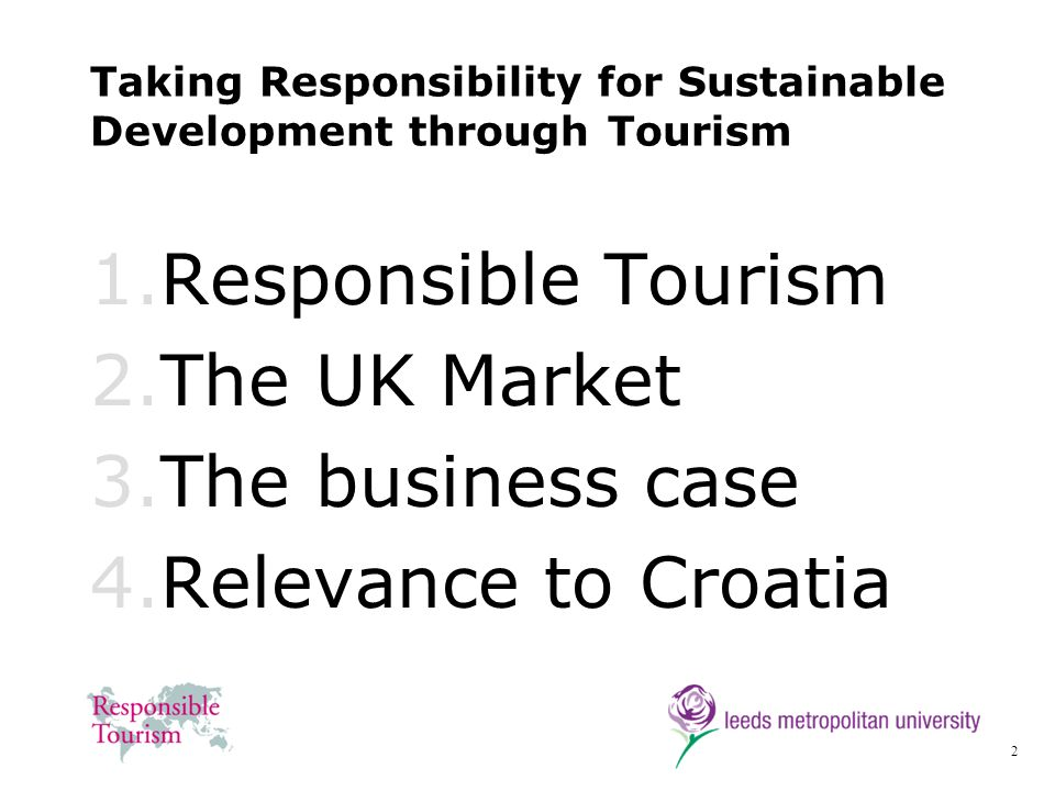 23 Association of Independent Tour Operators (AITO) 2000 … we recognize that in carrying out our work as Tour Operators we have a responsibility to respect other peoples places and ways of life.