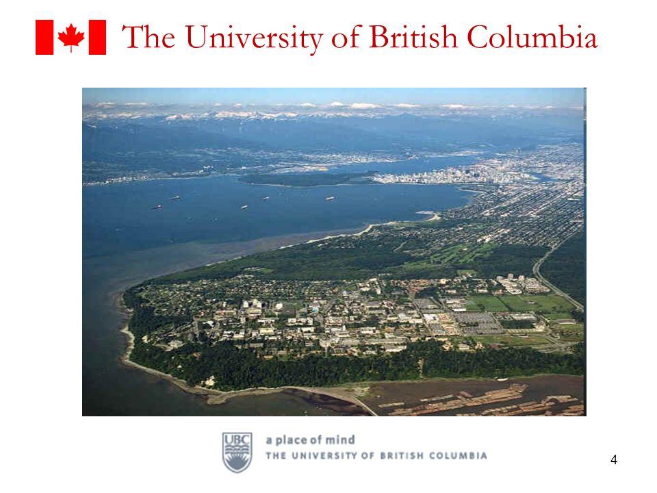 The University of British Columbia 4