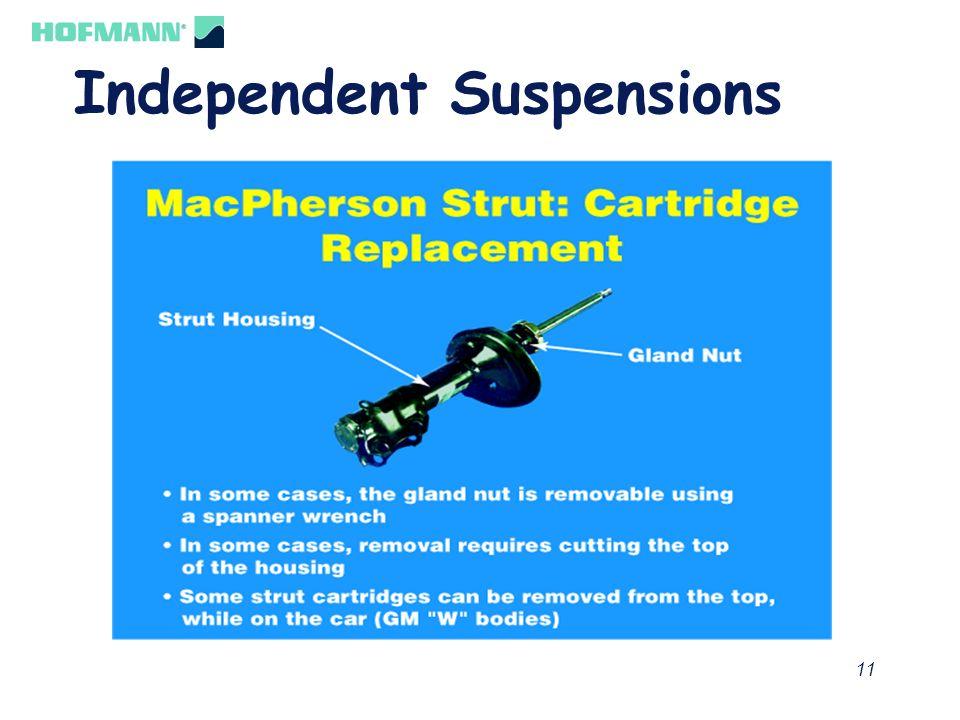 12 Independent Suspensions