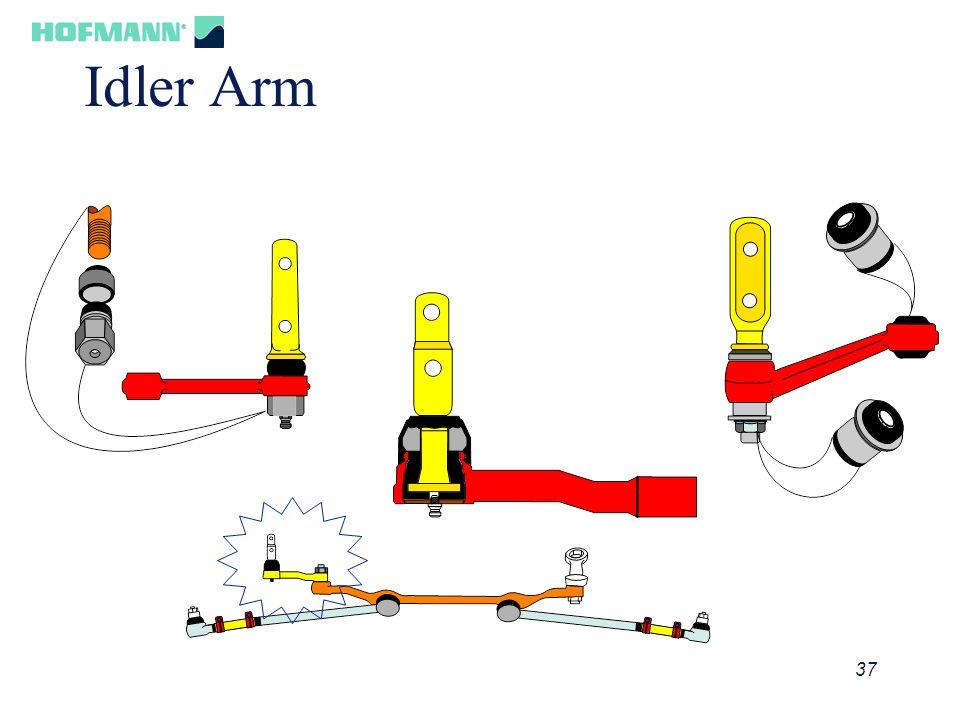 38 Idler Arm Check 1/4 25 lbs