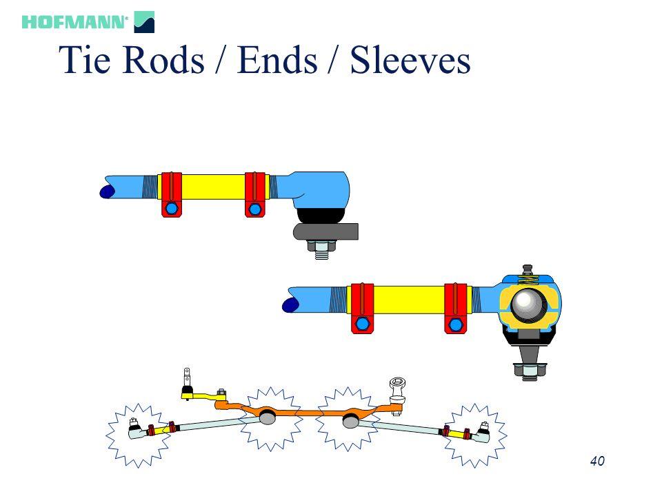 41 Tie Rod Tightening Incorrect Clamp Alignment Correct Clamp Alignment Tie Rod Stud Alignment IncorrectCorrect