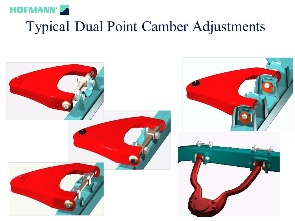 52 Typical Dual Point Camber Adjustments