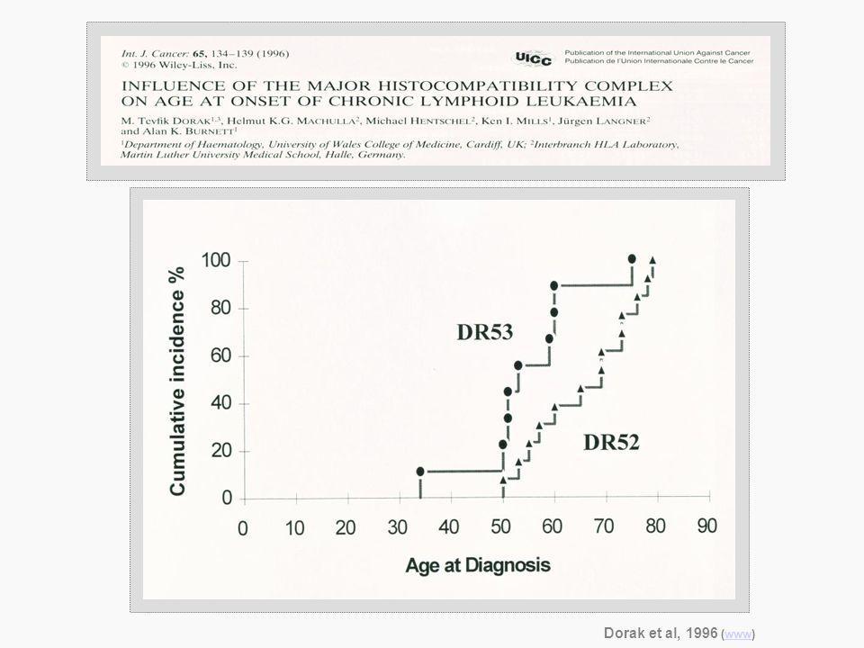 Dorak et al, 1996 (www)www