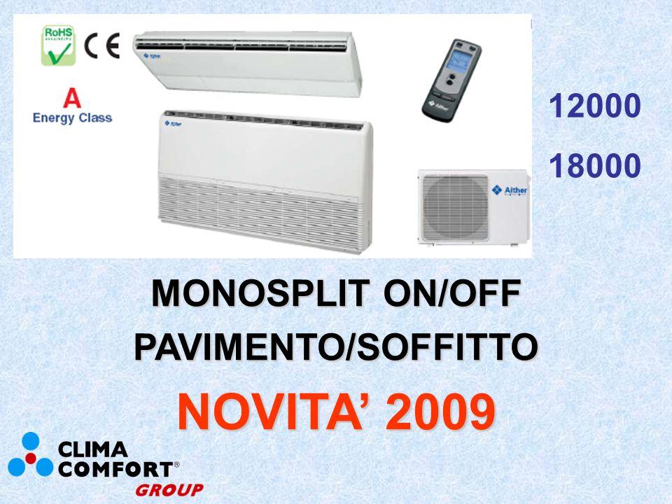 MULTISPLIT TRIAL INVERTER FLAT SPECCHIO NOVITA 2009 9000x3