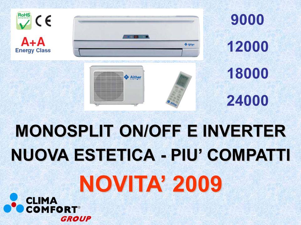 NUOVA ESTETICA MONOSPLIT NOVITA 2009
