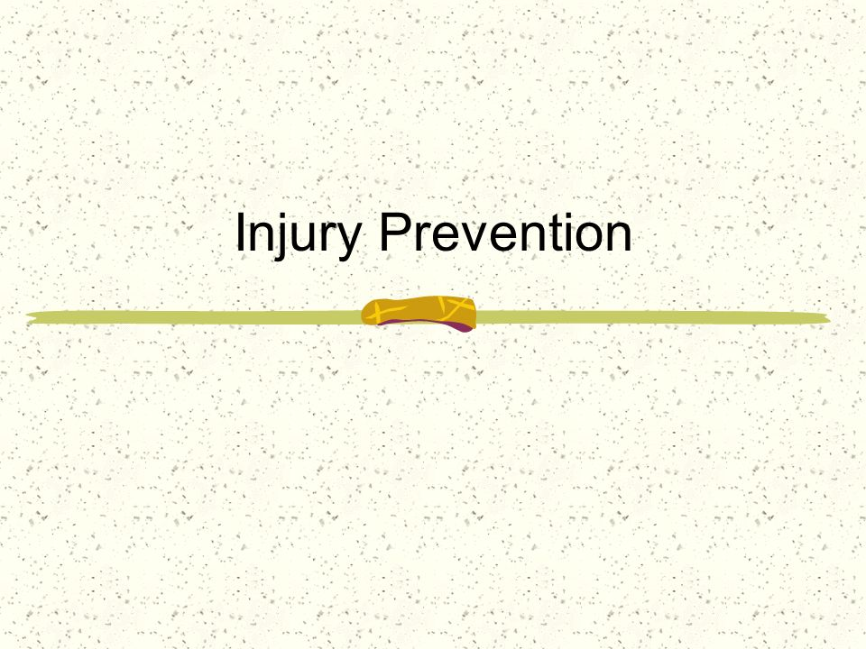 The best method of managing and caring for athletic injuries is to PREVENT them from occurring Many factors are important in the prevention process Equipment Bracing Taping Coaching Techniques Body Mechanics Universal Precautions