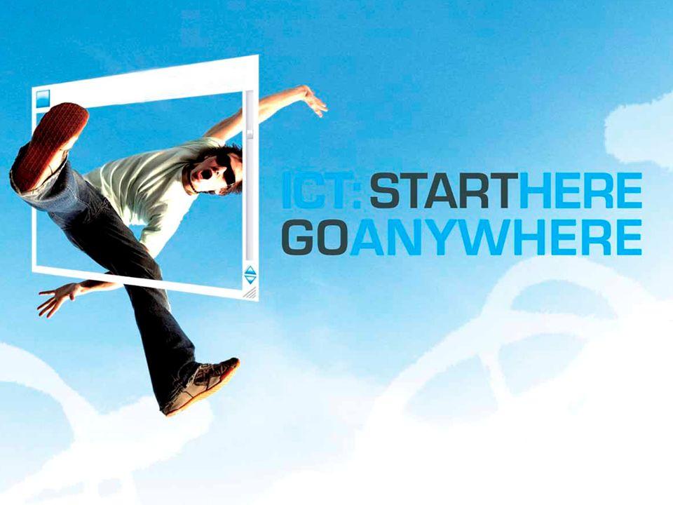 2013 National ICT Careers Week 29 July – 4 August Start Here Go Anywhere www.ictcareersweek.info