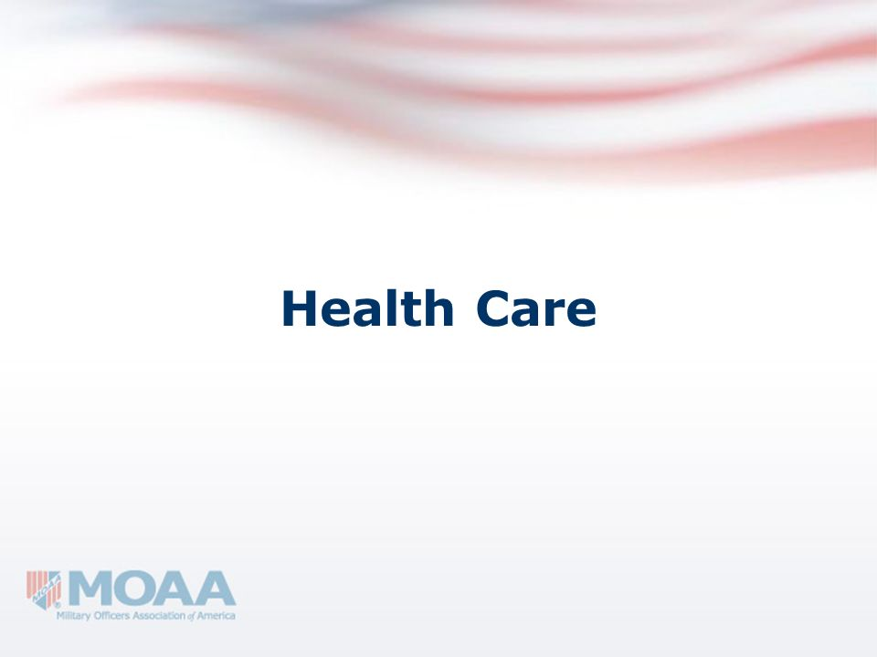 TRICARE/TFL The TRICARE Health Plan Serves more than 9.2 million beneficiaries.