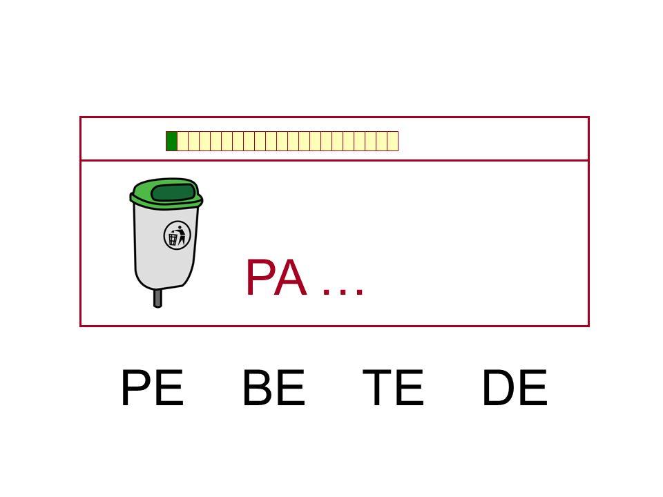 … PA BA TA CA