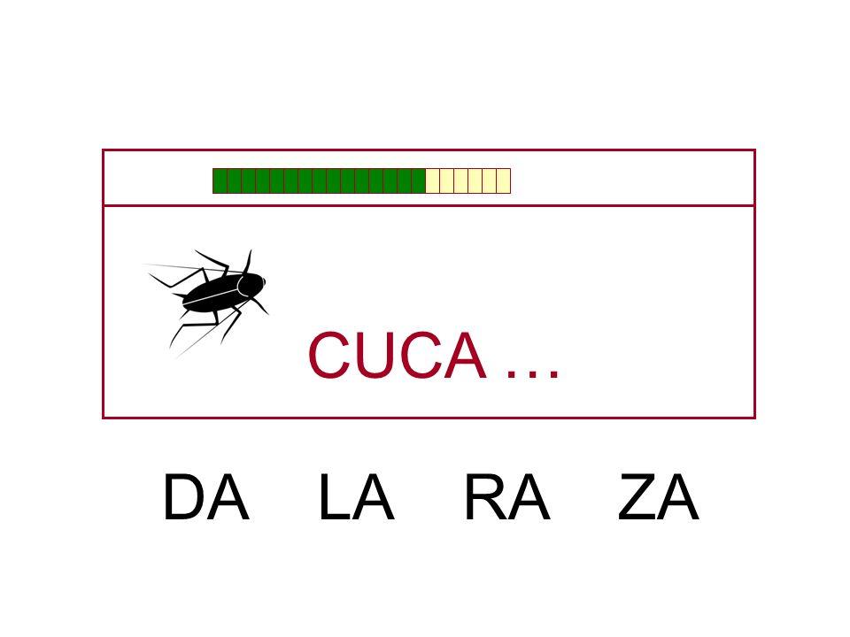CU … CHA JA GA CA