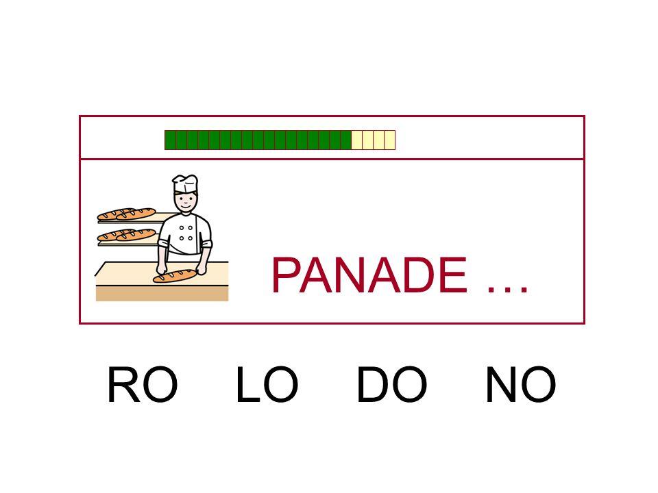 PANA … BE PE TE DE