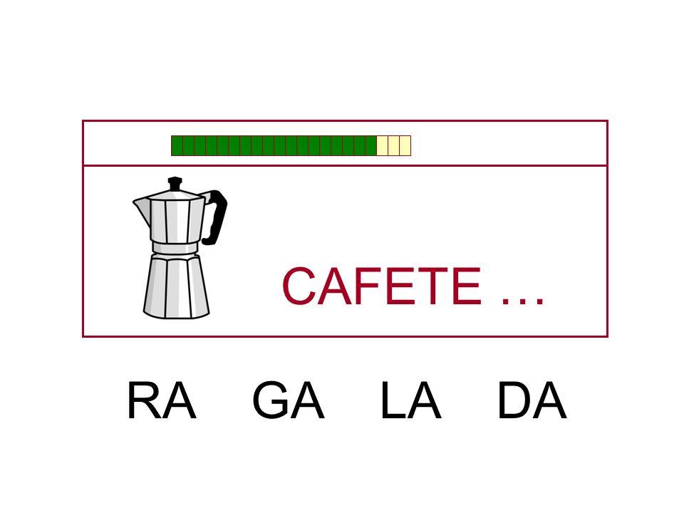 CAFE … TE PE QUE BE