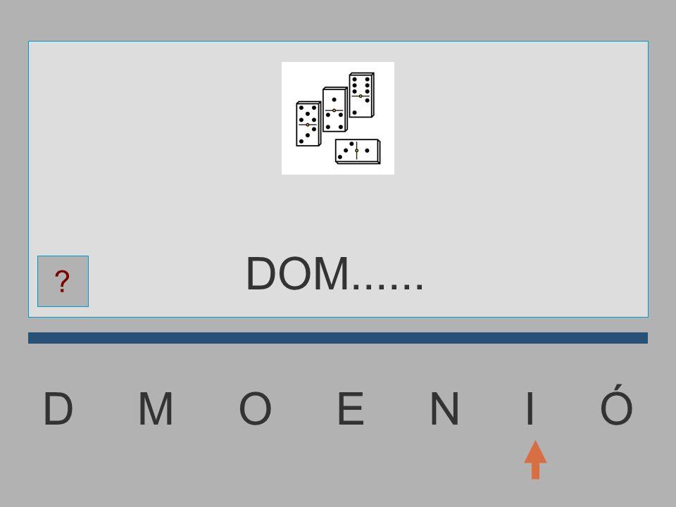 D M O E N I Ó DO........ ?