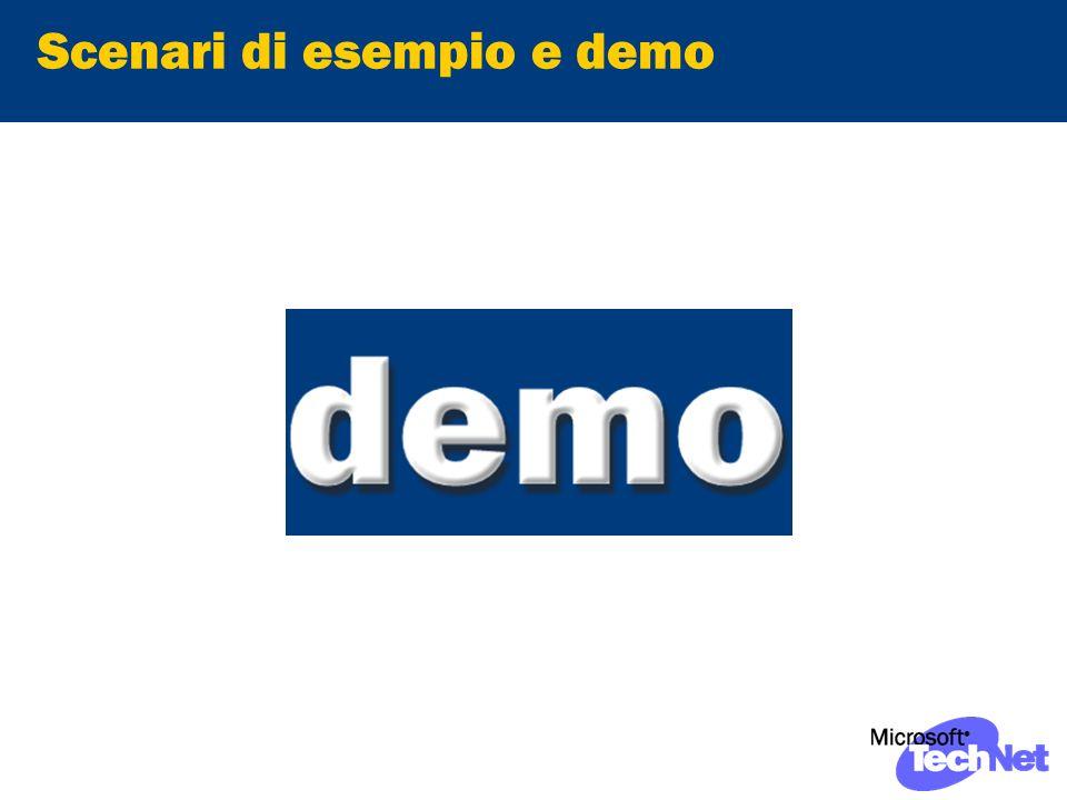 Scenari di esempio e demo