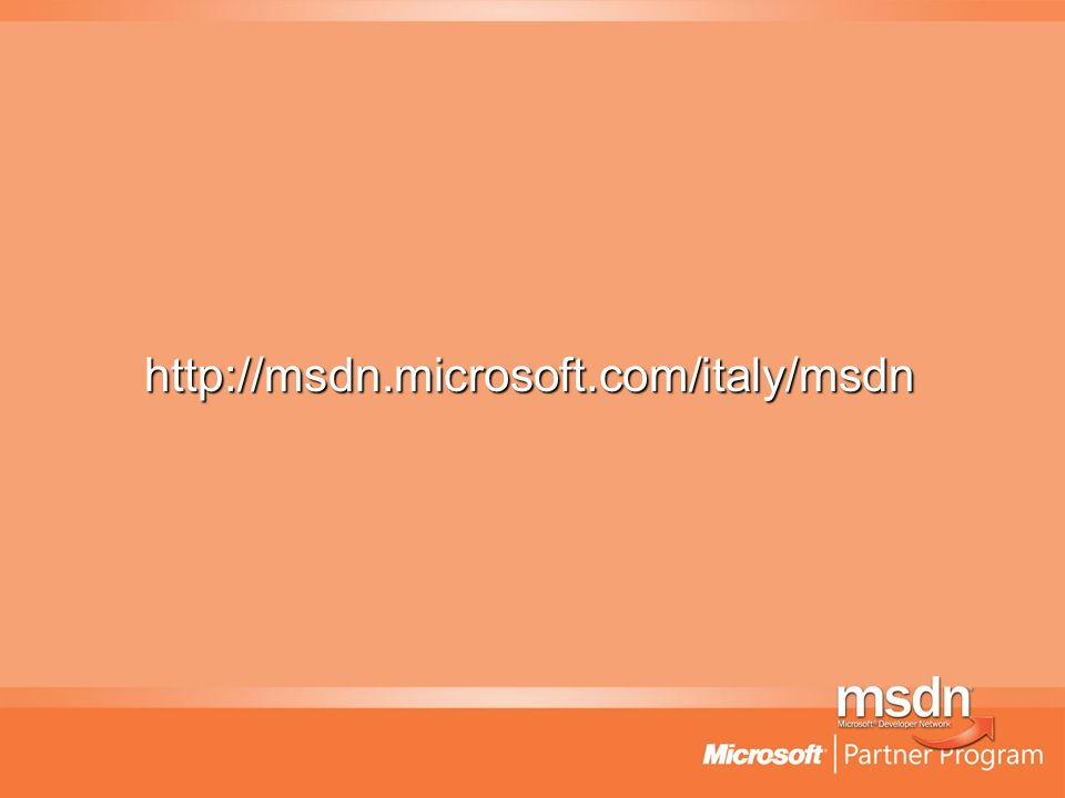 http://msdn.microsoft.com/italy/msdn