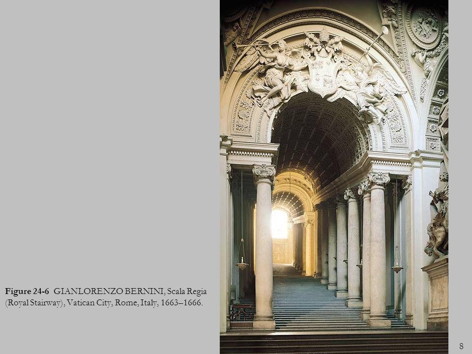9 Figure 24-7 GIANLORENZO BERNINI, David, 1623. Marble, 5 7 high. Galleria Borghese, Rome.