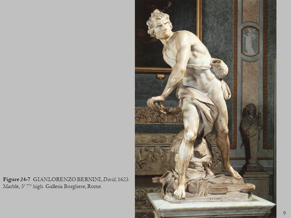 Figure 24-1 GIANLORENZO BERNINI, inerior of the Cornaro Chapel, Santa Maria della vittoria, Rome, Italy, 1645-1652.