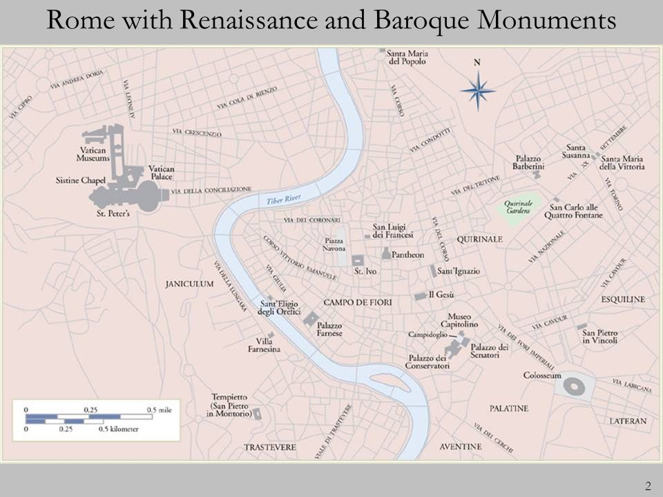 2 Rome with Renaissance and Baroque Monuments
