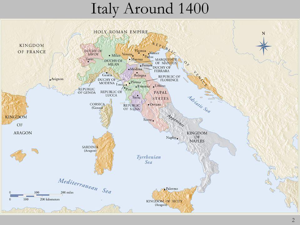 2 Italy Around 1400