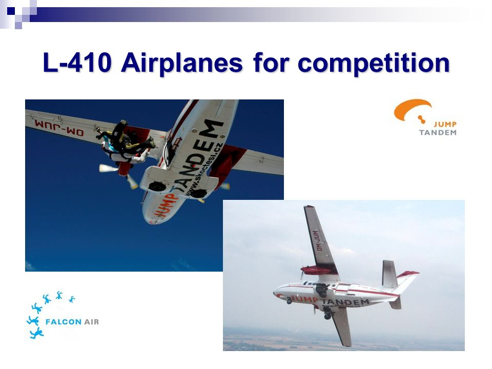 L-410 Airplanes for competition