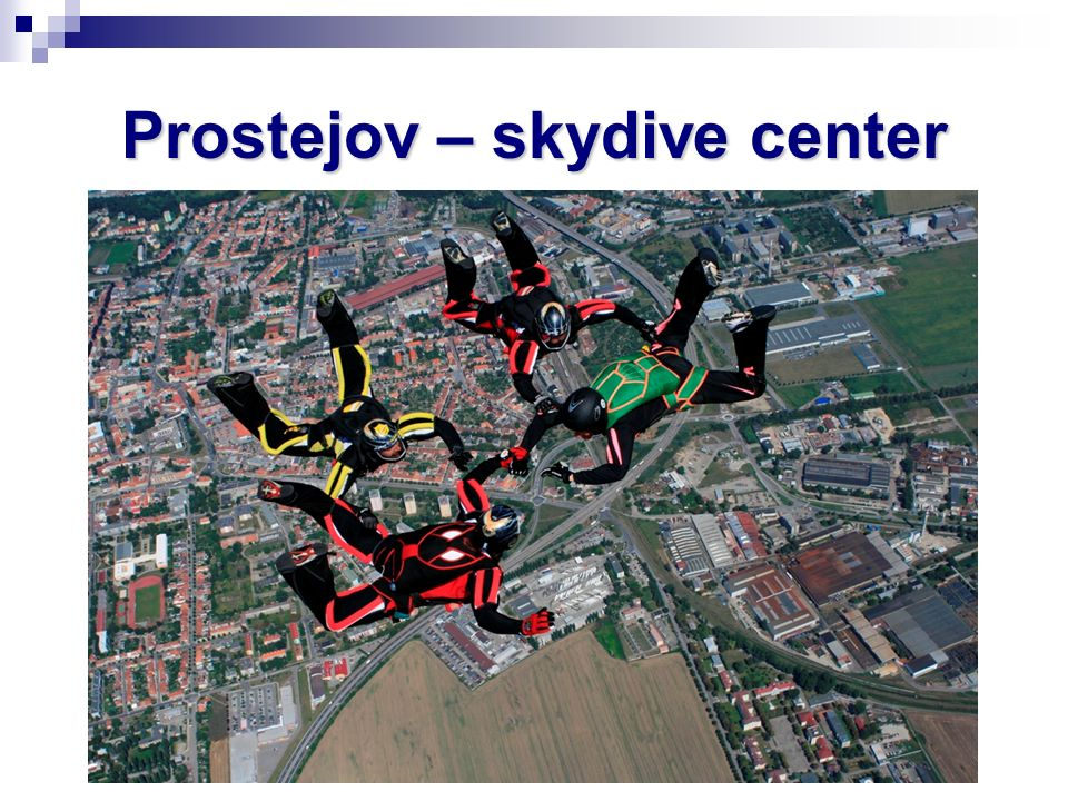 Prostejov – skydive center