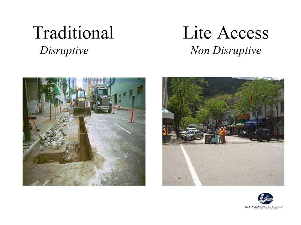 TraditionalLite Access DisruptiveNon Disruptive
