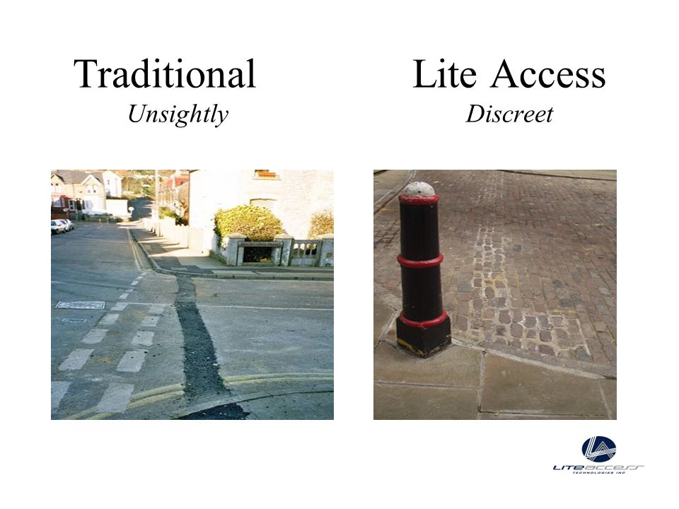 TraditionalLite Access UnsightlyDiscreet