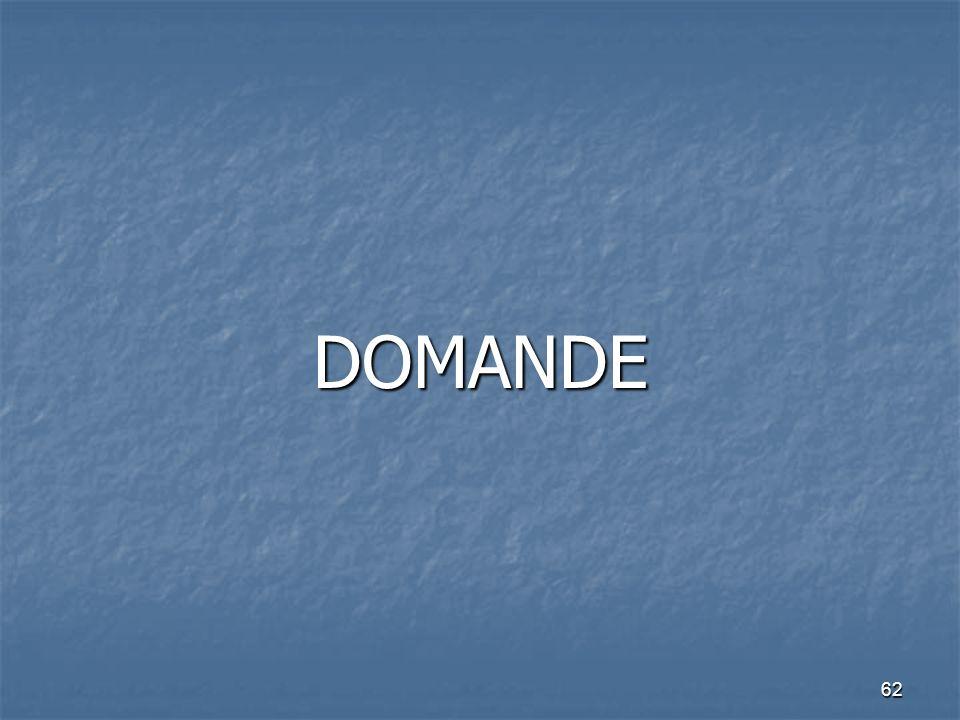 62 DOMANDE