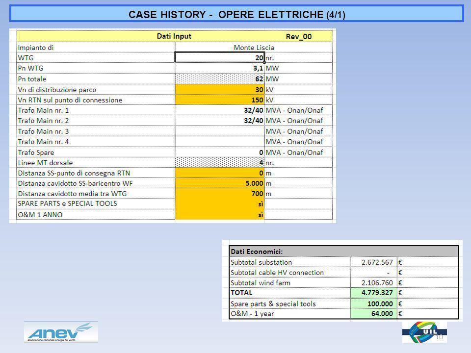 CASE HISTORY - OPERE ELETTRICHE (4/1) 10