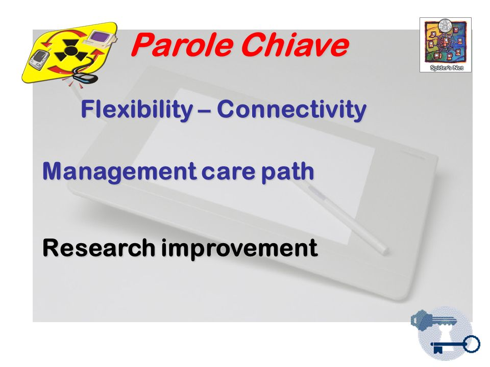 Parole Chiave Management care path Research improvement Flexibility – Connectivity