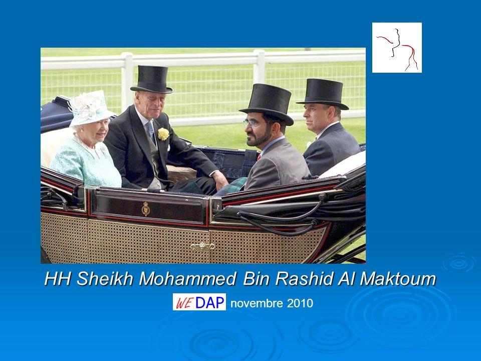 novembre 2010 HH Sheikh Mohammed Bin Rashid Al Maktoum