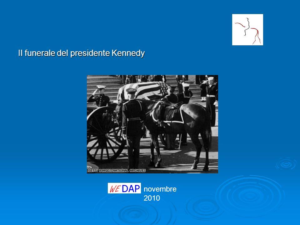 Il funerale del presidente Kennedy