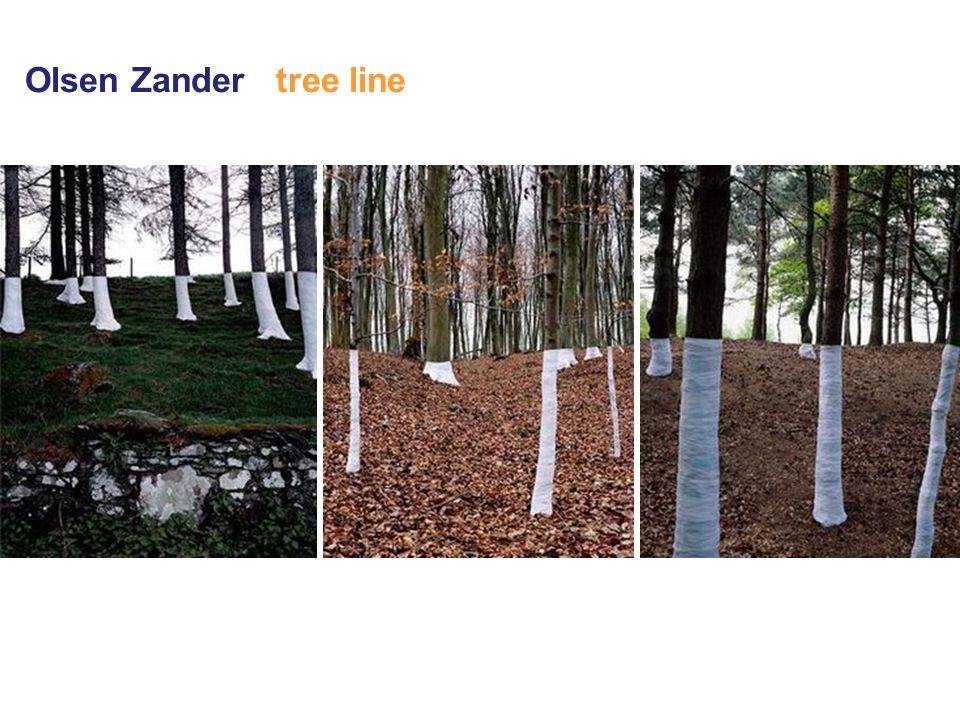Olsen Zander tree line