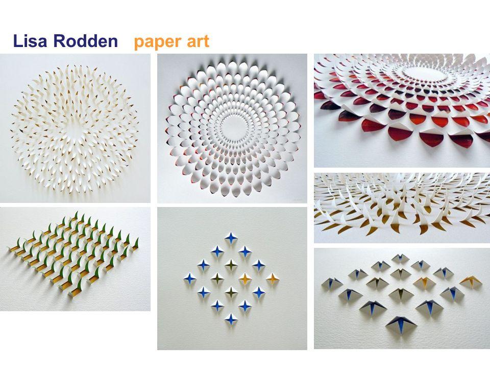 Lisa Rodden paper art