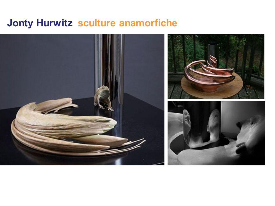 Jonty Hurwitz sculture anamorfiche